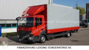 Camión Mercedes Atego 818L Pritsche 7,22m LBW Klima Euro-6 lona corredera (tautliner) usado
