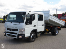 Fuso Canter Fuso 7C15 2-Achs Kipper Doppelkabine Meiller3.8m Top truck used three-way side tipper