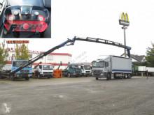 Camion savoyarde Mercedes Actros 2544 L6x2 Pritsche Heckkran 34m to, Jib, Funk