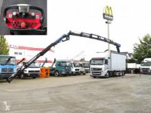 Camión lona Volvo FH 420 Pritsche Heckkran 34m t, Funk, Jib
