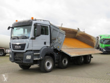 MAN three-way side tipper truck TGS TG-S 35.480 8x4 BB 4-Achs Kipper Schalter, Bordmatik