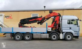 Camion MAN 480 8X2 + HYDRODRIVE + PALFINGER PK 60002 + JIB plateau occasion