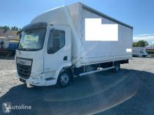Camião caixa aberta com lona DAF LF 180 FA Pritsche/Plane EURO6 4x2 LBW
