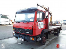 Mercedes 814 truck used flatbed