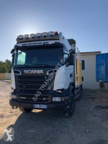 Scania R 580 truck used timber