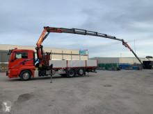 Camião MAN 360 6X2 PALFINGER 26002 + JIB estrado / caixa aberta usado
