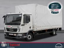 MAN TGL 12.220 4X2 BL AHK LBW Plane Klima truck used tarp