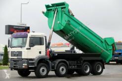 Camion benne MAN TGA 35.390 /8X4 / TIPPER / MANUAL / HYDRO-FLAP /