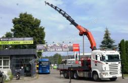 Ciężarówka Scania R 480 PALFINGER PK 40002 G WINCH EURO 5 TRIDEM platforma używana