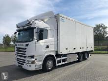 Vrachtwagen Scania R520 6X2 RETARDER TK TS-300 EURO 6 tweedehands koelwagen