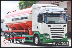 Scania G400 LB 6x2 Köhler 32m³ Silo, Saug Pellets truck used food tanker