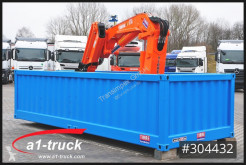 Mercedes Container Elektro Kran Tirre 331 Funk, stationär, Offshore container second-hand