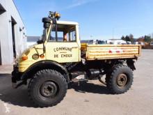 Camion Unimog U406 ribaltabile trilaterale usato