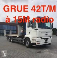 Camion MAN TGA 26.430 plateau ridelles occasion