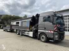 Camión remolque caja abierta teleros MAN TGS 26.500 6x2 Pritsche Kran HIAB HIPRO 408 E-6