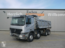 Mercedes emeletes billenőkocsi teherautó 4144 K 8x4, Halfpipekipper, AP Achsen