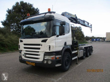 Camion porte containers Scania P380 8X2 EURO 4