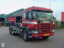 Camion porte containers Scania 114 340 EURO 2