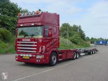 Scania car carrier truck 164 480 EURO 3 6X2 TRUCKTRANSPORTER
