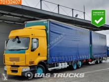 Lastbil med anhænger glidende gardiner Renault Premium 430