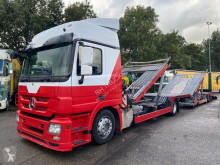 Mercedes car carrier trailer truck Actros 1836