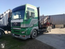 MAN timber truck TGA 26.463