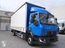 Renault függönyponyvaroló teherautó Gamme D 240.13 DTI 5