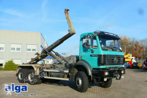 Mercedes 2631 2631 A 6x6, Allrad, Meiller RK 19.65, Ellermann truck used hook lift