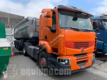Renault Lander 460 4x2 with Wielton Dump Trailer truck used tipper