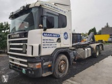 Scania R124 420 truck used hook arm system