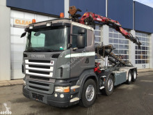 Lastbil Scania R 480 containertransport begagnad