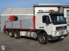 Camión Volvo FM12 420 volquete volquete trilateral usado