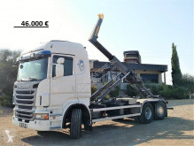 Scania hook arm system truck R 500