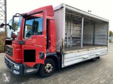 Camión caja abierta transporte de bebidas MAN TGL 12.250 L Getränkepritsche Plane