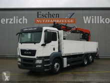 Camion MAN TGS 26.400 6x2-2 LL,Lift/Lenk, PK 21001 L, Klima plateau ridelles occasion