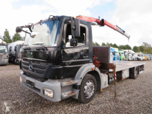 Fassi Mercedes-Benz Axor 1824 4x2 Euro 5 F80A.22 truck used dropside