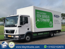 MAN E FULL ELECTRIC converted truck used box