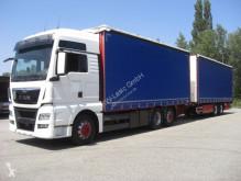 Camion cu remorca cu prelata si obloane MAN 26480 / KOMPLETTER ZUG