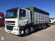 DAF CF85 380 truck used livestock trailer
