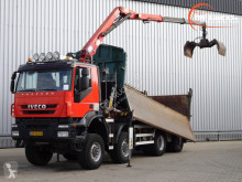 Iveco two-way side tipper truck Trakker