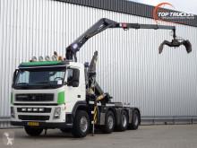 Camion Terberg FM1850-T Hyva 30T Haakarm, Hooklift, Abrolkipper - 16TM Kraan, Crane, Kran - Nette NL truck scarrabile usato