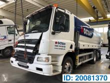 Camion DAF CF75 citerne produits chimiques accidenté