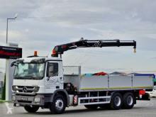 Camion Mercedes ACTROS 2632 / 6X4 / CRANE HIAB 144 / EURO 5 plateau occasion