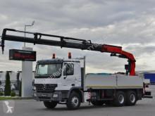 Ciężarówka platforma Mercedes ACTROS 2636 /6X4 / CRANE PALFINGER PK29002/RADIO