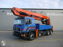 Camion MAN 27.372 6x4, PK 45000 ELAW HSV3, Seilwinde, Funk plateau occasion