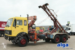 Camion multibenne Mercedes 2228/2236/2628/6x4/Atlas Kran/Schalter/Blatt