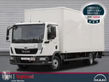 Camion MAN TGL 12.250 4X2 BL Koffer 7,1m, LBW, Klima fourgon occasion