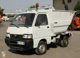 Piaggio waste collection truck Porter