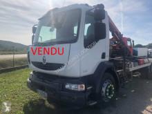 Kamión Renault Midlum 270.18 DXI hákový nosič kontajnerov ojazdený