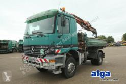 Camión volquete volquete trilateral Mercedes 1843 AK 4x4, Allrad, Kran Atlas AK 105, Klima